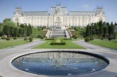 Slott av kultur Iasi arkivfoton