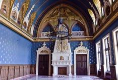 Slott av kultur, Iasi, inre royaltyfri fotografi