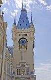 Slott av kultur, Iasi - klockatorn arkivfoto