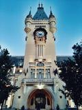 Slott av kultur, Iasi, Rumänien royaltyfri fotografi