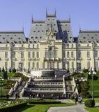 Slott av kultur Iasi Rumänien Royaltyfria Foton