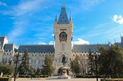Slott av kultur, Iasi, Rumänien arkivfoto