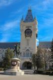 Slott av kultur, Iasi, Rumänien arkivbilder