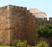 Slott av Lagos i Lagos Portugal arkivfoton