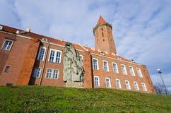 Slott av Legnica, Polen Arkivbild