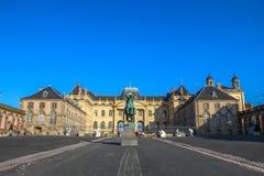 Slott av Lunéville, Lorraine, Frankrike Fotografering för Bildbyråer