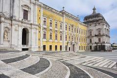 Slott av Mafra Portugal Arkivbilder