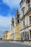 Slott av Mafra Portugal Royaltyfri Bild