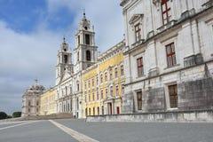 Slott av Mafra Portugal Fotografering för Bildbyråer
