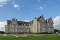 Slott av Magdalenaen i Santander, Spanien royaltyfri foto