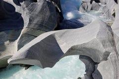 Slott av marmor, Rana för Mo I, Norge Arkivfoton