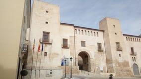 Slott av Mila och Aragon, Albaida & x28; Valencia& x29; & x28; Spain& x29; Royaltyfri Bild