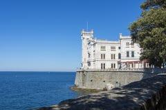 Slott av Miramare Royaltyfri Foto