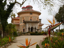 Slott av Monserrate (Sintra, Portugal) arkivfoto