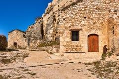 Slott av Morella, landskap av Castellon, Spanien Royaltyfri Bild