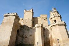 Slott av Olite - Spanien Royaltyfria Foton