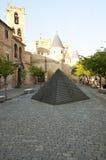 Slott av Olite - Spanien Fotografering för Bildbyråer