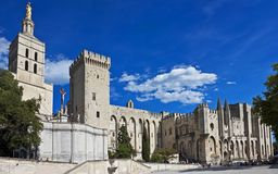 Slott av påvarna, Avignon Arkivfoton