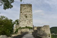 Slott av Pappenheim, Söder-Tyskland Fotografering för Bildbyråer