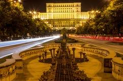 Slott av parlamentet Arkivfoto