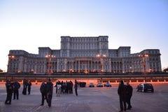 Slott av parlamentet royaltyfria foton