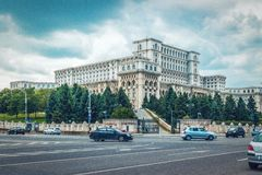 Slott av parlamentet Royaltyfri Fotografi
