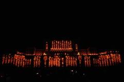 Slott av parlamentet Bucharest royaltyfria foton