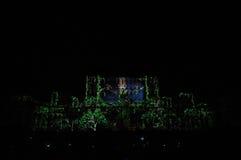 Slott av parlamentet Bucharest royaltyfri foto
