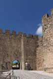 Slott av Penela, Beiras region, Royaltyfri Bild