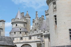 Slott av Pierrefonds Royaltyfria Foton