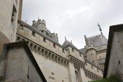 Slott av Pierrefonds Royaltyfri Foto