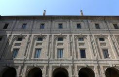 Slott av Pilotta, Parma royaltyfria foton