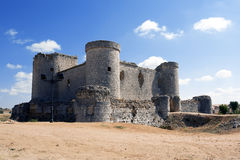 Slott av Pioz royaltyfri foto