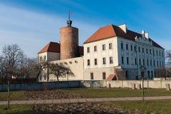 Slott av prinsar av Glogow royaltyfria foton