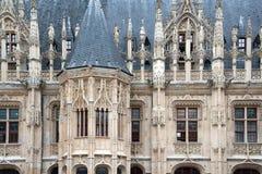 Slott av rättvisa Arkivbild