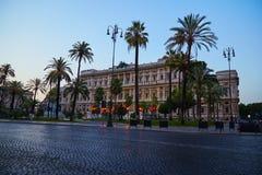 Slott av rättvisa i Rome royaltyfri foto
