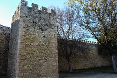 Slott av regulatorer, Lagos stad i Portugal arkivbild