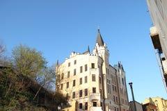 Slott av Richard Lionhearten (Kiev) Arkivbilder