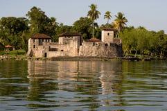Slott av San Felipe de Lara arkivfoton
