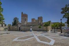 Slott av San Marcos i El Puerto de Santa Maria arkivbilder