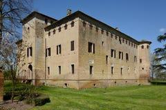 Slott av San Pietro i Cerro arkivbild