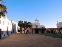 Slott av Santa Catalina i Cadiz Royaltyfri Foto
