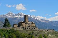 Slott av Sarre Royaltyfria Foton