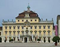 Slott av Schloss Ludwigsburg i Stuttgart i Tyskland royaltyfri foto