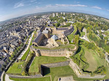 Slott av Sedan, Champagne Ardenne, Frankrike Arkivbild