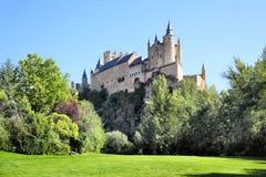 Slott av segovia Arkivfoton