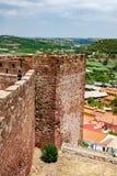 Slott av Silves Arkivfoton