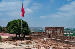 Slott av Silves Arkivfoto