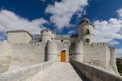 Slott av Simancas, Valladolid Arkivbild
