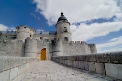 Slott av Simancas, Valladolid Arkivbilder